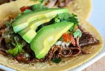 Tacos / Taco recipes! / by Michelle (Brown Eyed Baker)