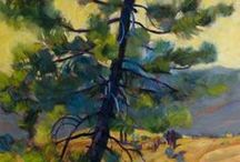 ART Tree Landscapes--In the Pines / by Elyse Kutz