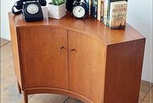 HOME DECOR corner cupboards