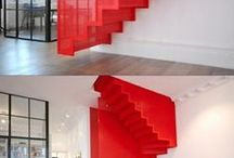 ROOMS | staircase / spiral staircase, steps and stairs.  very useful, beautiful ladders, rungs and staircases
