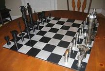 Chess Sets / by Diane Tobkin