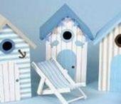 fairy house & bird houses / fairy house, fairy village, fairy garden, fairy school, fairy cinema, fairy stadium, fairy Christmas