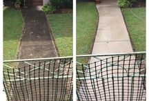 Concrete and driveway cleaning, sealing and painting Brisbane / At Waterworx pressure cleaning we service areas such as Brisbane, Ipswich and the Gold Coast for all your external cleaning needs.