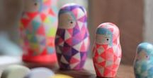 MATRIOSKA | nesting dolls / Do you know Russian matrioska? The're nesting dolls. I really like them!