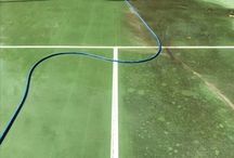 Tennis court cleaning / Tennis court and sport surface cleaning Brisbane. Call Waterworx Pressure Cleaning for a free quote on 0422814158