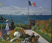Pieces of Monet / Monet paintings, in whole or part (unverified sources).