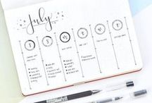 "PLANNING | Bullet Journal / Bullet Journal Fans. ""A goal without a plan is simply a wish."" Antoine de Saint-Exupery.          I would be able to plan my life!!!! here I'm collecting planning tips and bullet journals.... maybe someday I'll have my own bullet journal"