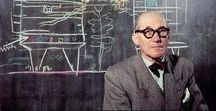 modern ARCHITECTS / masters of Modernism. Frank Lloyd wright, Hector Guimard, Carlo Scarpa, Le Corbusier, Pietro Fenoglio