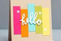 card ideas / by Lain Ehmann