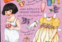 Paper Dolls / Fun paper dolls for children and adults. Vintage, Disney and more!