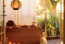 Relaxation: Spas, Vacations, and Self-Care / Take time to relax. These vacation spots are sure to help you get your mojo back! Spas, retreats, vacations, and more.  / by Lain Ehmann