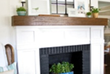 fireplaces / by Jessica Bowling