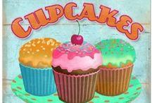 cupCakes, cupcAkes, cuPcakes / by Linda Williams