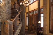 Staircases ♦ Foyers ♦ Hallways / by Linda Williams