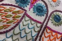 Embroidery / Wonderful embroidery designs, ideas and stitch tutorials.