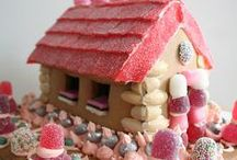 Gingerbread / Amazing Gingerbread houses and other Gingerbread creations.