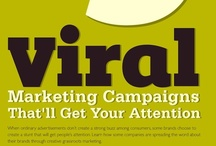 "*Viral Marketing / Get your content, brand and messaging to spread fast, like a virus.  (Get it?  Viral Marketing!)  What you need to know to create ""stuff"" that travels faster than wild fire!   / by CaptureHits Marketing Group"