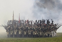 Reenactment of Borodino battle