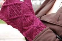 Knitting / Knitting Projects; some I have done, some are works in progress and some are ones I want to make.