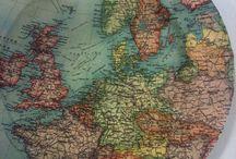 I love maps! / by Julia Webb