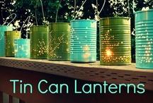 {diy} tin can crafts / by Dawn Selene