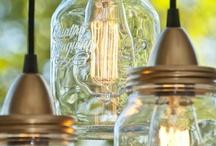 {diy} mason jars / by Dawn Selene