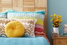 Headboard Ideas / Inspiration and tutorials for making awesome headboards.