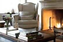 Fall/Winter rooms / Cozy rooms for the Fall or winter months. Sit by the fire and relax kind of rooms
