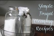 Frugal Cleaning Recipes / DIY, green cleaning recipes.. / by Michelle Stroup