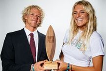 2014 SURFER Poll Awards / The Top 10 men and Top 5 women surfers in 2014, as chosen by you, our readers / by SURFER