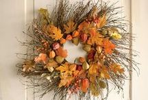 Fall & Thanksgiving / Leaves, pumpkins, leftovers and maybe even classing up Halloween a little bit. / by Julie Steed