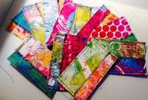 Gelli tutes / Tips, tricks, ideas for using a gelli plate / by Julie Steed