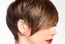 """HAIR SHORT / """"A women who cuts her hair is about to change her life"""" Coco Chanel"""