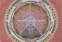 Mandala's / Spiritual mandala'sby Christine Rainbird for sale. Comes in there different sizes. Powerful and beautiful..... Contact me at AK.magraff@gmail.com for more info and prices.