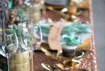 White, Gold, Teal, Mint, Birthday Decor Ideas / White gold teal mint birthday decor ideas, birthday party for girls, tween birthday