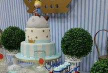 Little Prince Inspirations / Little prince baby boy babyshower, birthday ideas, navy blue, white, gold decor