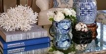 coffee table styling / Different styles of coffee table vignettes
