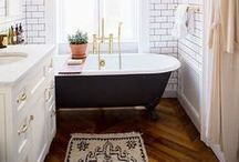 Bathrooms / by Sarah Langtry // Just The Bee's Knees