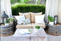 outdoor spaces / by Sarah Langtry // Just The Bee's Knees