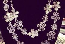 """Bling Bling Obsession / I confess """"I'm a jewelry whore"""" &  I love, love, love accessories. One of my sayings since I was a preteen is """"Earrings make a face"""" / by Barbara Massey"""