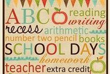 School Ideas / by Shannon O'Connor Dukes