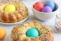 Easter Ideas & Recipes / Celebrate this Easter with cute and creative recipe ideas! From Bunny Bread, to Carrot Cake and Cheesecake Chocolate Eggs, you'll make this year unforgettable! / by Catherine McCord