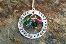 Hand Stamped Jewelry / Our shop, packed full of personalized, hand stamped gifts for you or someone special to you!   Perfect mom necklaces, Guaranteed to make someone's day!
