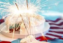Fourth of July Recipe Ideas / Ready to celebrate Independence Day with that Red, White & Blue? We are! Find fun recipe ideas to kick off the holiday! / by Catherine McCord