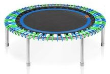 bellicon products / Details about the bellicon mini trampoline and its accessories.