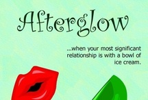 Novel: Afterglow / A romantic comedy with a heroine of a certain age.
