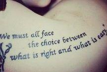 tattoos / by Erika Mason