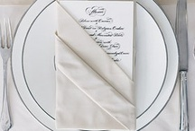 Napkin Folds / how to fold napkins
