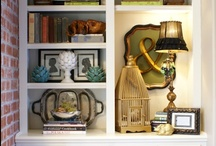 Bookcase staging / How to stage a bookcase