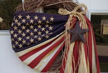 July 4th / July 4th. Fourth of July decorations. Fourth of july decor